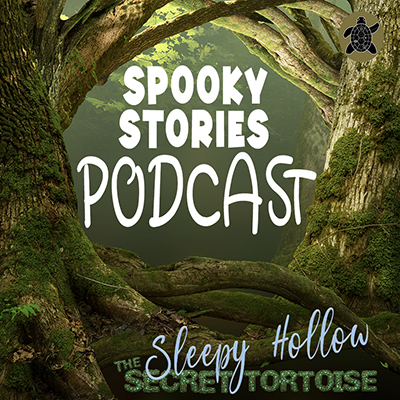 This image has an empty alt attribute; its file name is spooky-stories-podcast-400.jpg